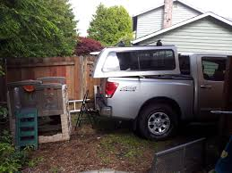nissan titan trucks for sale for sale silver snugtop canopy for crew cab nissan titan forum