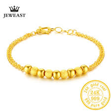 bracelet fine jewelry images Bb 24k gold bracelet pure yellow genuine au999 bangle fine wedding jpg