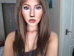 fawn u0027 makeup tutorial cosplay pinterest halloween costumes