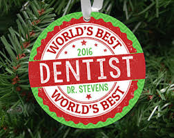 dentist ornament etsy