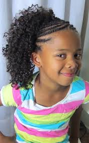 crochet braid ponytail crochet braids kids style ponytails and protective styles