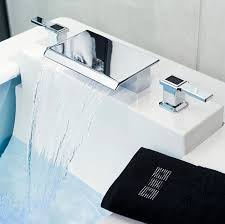 amazing waterfall faucet for bathroom sinks image 91 ohwyatt com