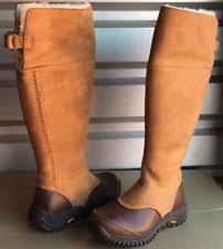 uggs on sale womens ebay ugg australia leather solid boots for us size 8 ebay