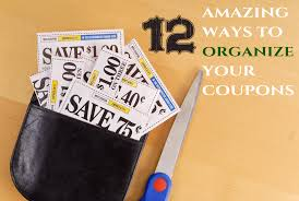 amy s kitchen coupons 12 amazing ways to organize coupons the organized mom