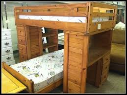 Wooden Loft Bed With Desk Underneath Wooden Bunk Bed With Desk For Limited Space U2014 Desk Design Desk Design