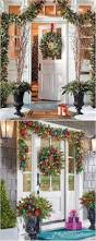 homes decorated for christmas outside 25 unique christmas front doors ideas on pinterest front door