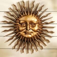 Toscano Home Decor Design Toscano Sloane Square Greenman Sun Wall Sculpture In