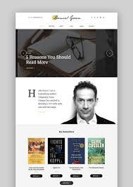 wordpress templates for websites 17 best wordpress themes for writers and authors 2017