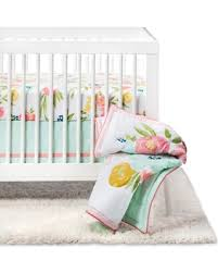 deal alert crib bedding set floral fields 4pc cloud island