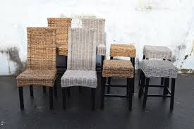 Rattan Kitchen Chairs Furniture Wicker Stool By Seagrass Furniture For Home Furniture Ideas