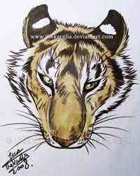 tiger tattoo design by thekarelia on deviantart