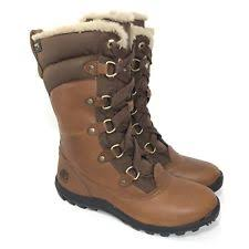 womens size 11 timberland boots timberland 7592 womens mount brown leather winter boots shoes