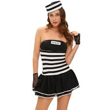 Halloween Jail Costumes Cheap Prisoner Costumes Aliexpress Alibaba