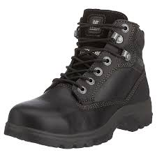 womens work boots uk caterpillar cat footwear s kitson s1 safety boots black