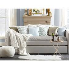 Upholstered Daybed With Trundle Daybeds Daybed Frames