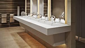 Bathroom Trough Sink Slant Commercial Bathroom Trough Sink