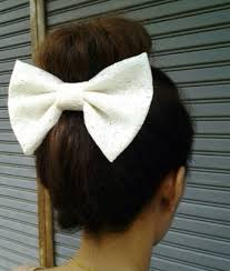 big bows for hair jewels oversized bow bow hair now white lace floral fashion