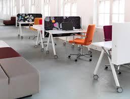 poe writing desk cutout contemporary glass desks for home office