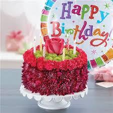 birthday flower cake 1 800 flowers birthday wishes flower cake purple country