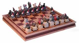 Buy Chess Set Chicken Animal Chess Sets