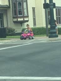 barbie jeep power wheels college student drives power wheels barbie break com