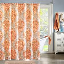 Echo Design Curtains Intelligent Design Id70 220 Senna Shower Curtain 72 X