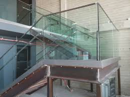 Stair Banister Installation Glass Stair Railing Installation In Long Beach