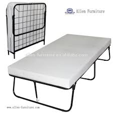 Single Folding Guest Bed Mordern Cheap Single Size Twin Size Double Size Iron Traveler