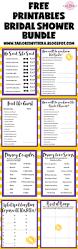 the 25 best bridal shower bingo ideas on pinterest bridal games