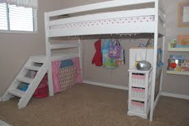 How To Build A Full Size Loft Bed With Stairs by Loft Beds Ergonomic Diy Loft Bed Plans Inspirations Diy Loft Bed