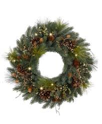 wreaths with battery operated lights tree classics