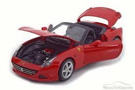 california model car california t open top bburago 16007r 1 18 scale