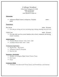 college student resume samples no experience amitdhull co