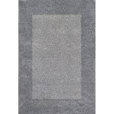 White And Gray Rugs Shop Allen Roth Covenshire Gray Rectangular Indoor Machine Made