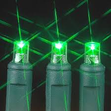 red and green led christmas lights green 20 light battery operated christmas lights on green wire