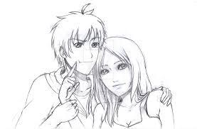 couple sketch by snuzzy23 on deviantart