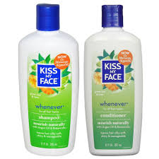 kiss my face all natural organic whenever shampoo and conditioner