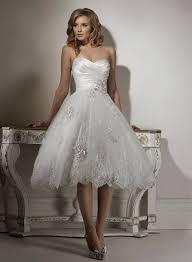 Tea Length Wedding Dress Tea Length Wedding Dresses Offer Informal Beauty