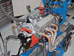 high performance small block engine displacement 355 chevy