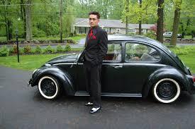 black volkswagen beetle men u0027s black suit blazer and black volkswagen beetle free image