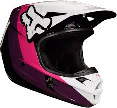 pink motocross helmets new 2018 fox racing v1 halyn mx motocross riding helmet black pink