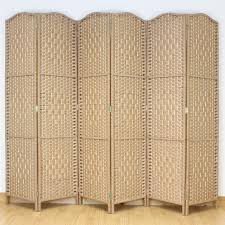 Wicker Room Divider Wicker Room Divider Together With 6 Folding Panel And Weave Shape