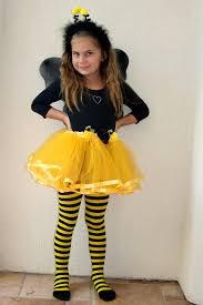 Bee Halloween Costume Halloween Costume Girls Bumble Bee Tiddleywinkpink Etsy U003c3