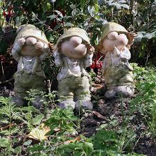 co uk gnomes garden sculptures statues garden outdoors