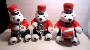 interactive coca cola polar bear marching band infrared auto