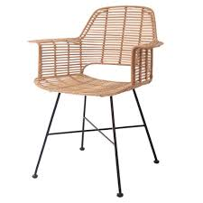 Dining Tub Chairs Scandi Style Rattan Tub Dining Chair In Scandi