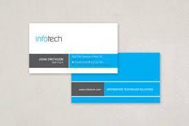information technology business card template inkd
