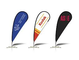 Feather Flag Pole Custom Teardrop Banners