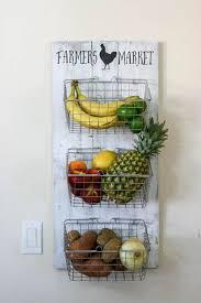 kitchen wall storage ideas best 25 fruit holder ideas on tiered fruit basket