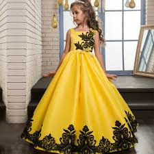 yellow wedding dress smr018 european and american dress classic yellow satin